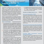 Factsheet Improving the Investment Climate in ASEAN