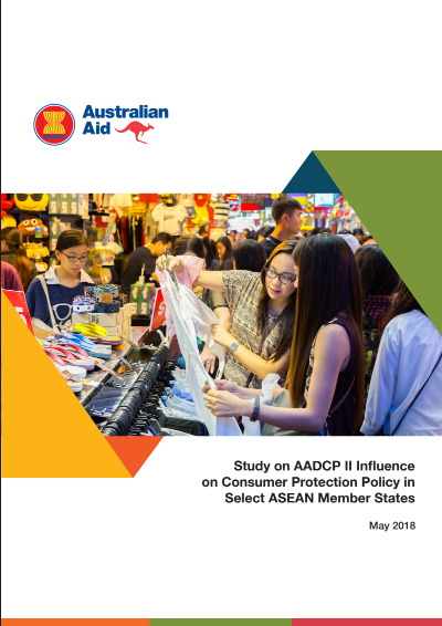 Study on AADCP II Influence on Consumer Protection Policy in Select ASEAN Member States